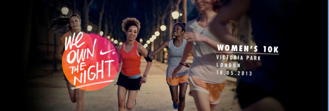 We own the night – Nike women 10K race