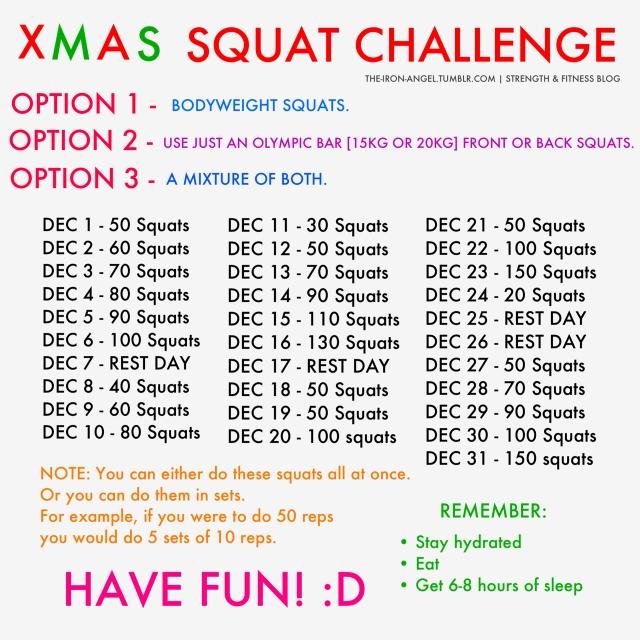 May squat challenge