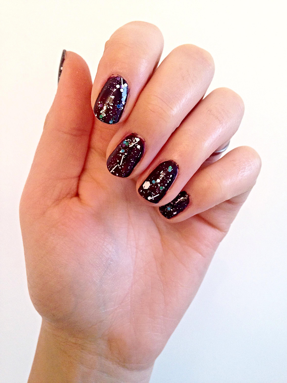 {Sunday pamper} Party manicure