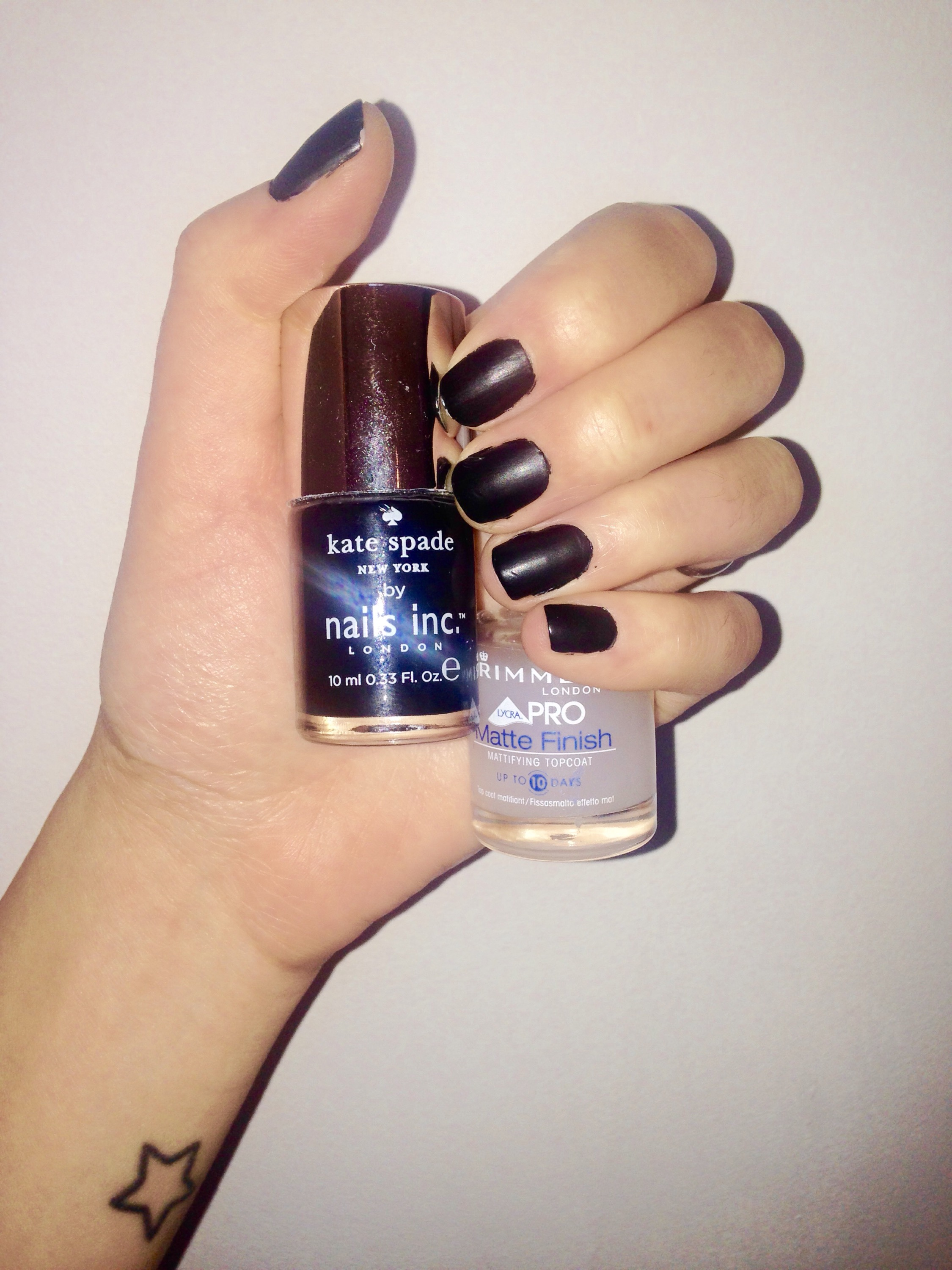 {Sunday pamper} New York Noir manicure