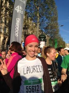 Paris marathon 2014