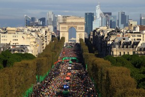Paris Marathon 2014 Race recap- One year later