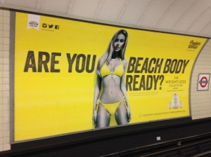 Protein World London tube