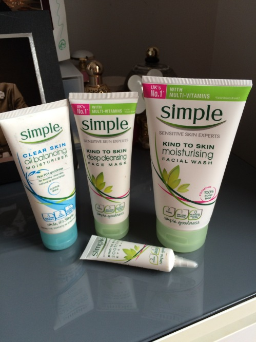 Simple skincare kind to sensitive skin review