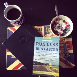 Run less run faster marathon training plan bristol to bath