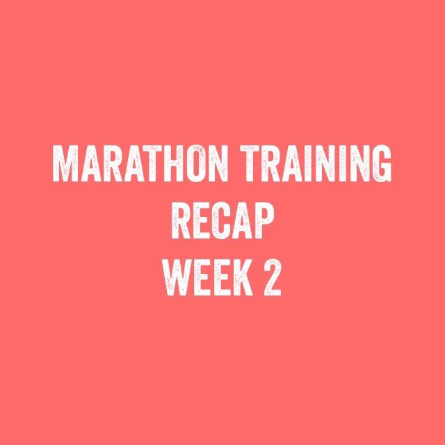 Bristol + Bath marathon: training update week 2