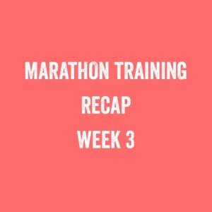 Bristol + Bath marathon: training update week 3