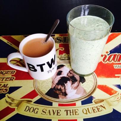 breakfast smoothie protein