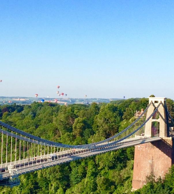 Bristol Balloon fiesta suspension bridge