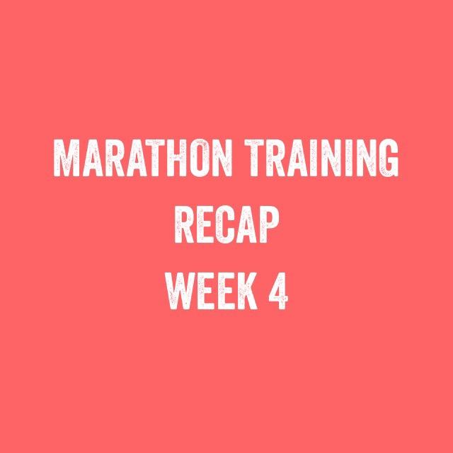 Bristol + Bath marathon: Training update week 4