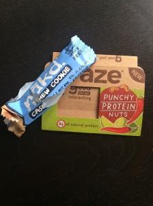 nut healthy protein snacks