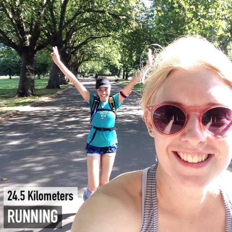 Mile end parkrun victoria park marathon training