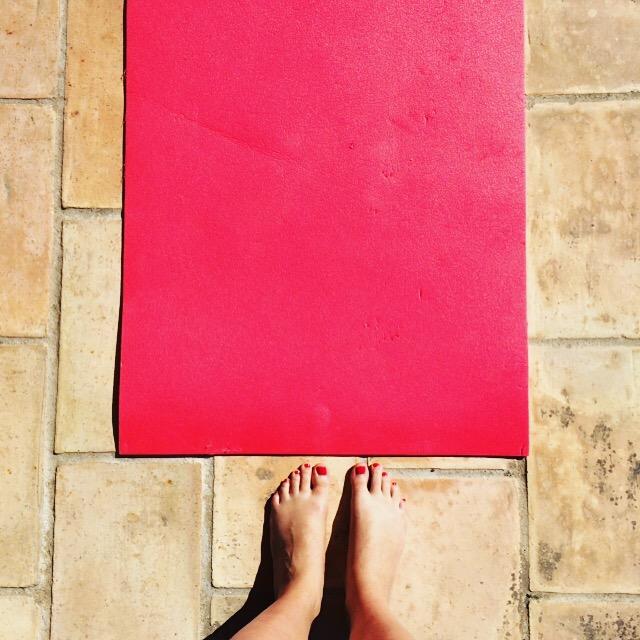 Barre Asana yoga Sweaty Betty